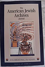 The American Jewish Archives Journal Volume…