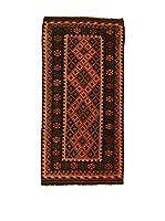 Kilim Carpets by Jalal Alfombra Kilim Kaudani (Marrón/Rojo)