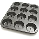 Chicago Metallic Non-Stick 12 Cup Surprise Cupcake or Muffin Pan