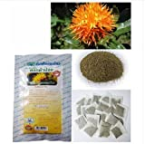 40 Bags Herbal Tea Safflower for high cholesterol/ fever, flu Natural heathy herb