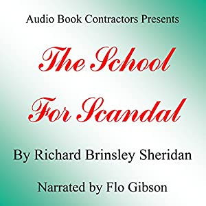 The School for Scandal Audiobook