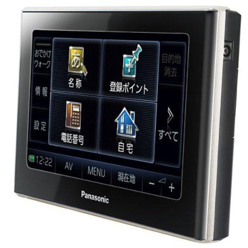 Panasonic ポータブルSDカーナビステーション ブラック 5v型 CN-SP300L-K