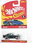 Classics Series 3 #9 Heavy Chevy Aqua 5-Spoke Redlines Collectible Collector Car Mattel Hot Wheels