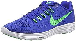 Nike Men\'s Lunartempo, LYON BLUE/POISON GREEN-WHITE-BLACK, 11.5 M US