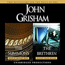 The Summons & The Brethren Audiobook by John Grisham Narrated by Frank Muller, Michael Beck