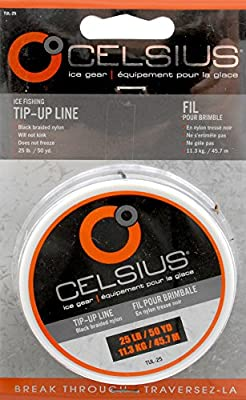 Celsius Tip Up Line, 15-Pounds, 50-Yards by Celsius