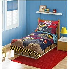 Tonka 4 Piece Toddler Bedding Set