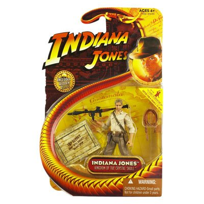Kingdom of the Crystal Skull - Indiana Jones with Bazooka - 3-3/4 Inch Scale Action Figure