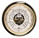 Brass Barometer Beach Lifestyle Beach House Interior Decorating Beach Living - Brand