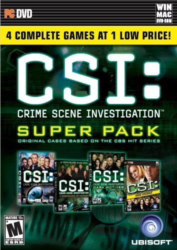 Csi: Crime Scene Investigation Super Pack - Pc