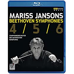 Beethoven: Symphonies Nos. 4-6 [Blu-ray]