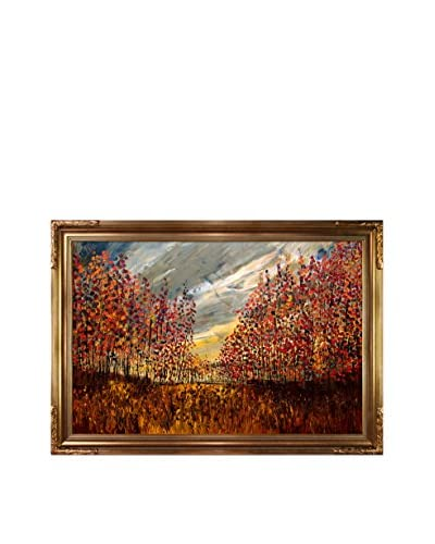 Justyna Kopania Autumn (Landscape) Framed Giclée on Canvas