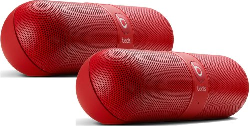 Beats By Dr. Dre Pill 2.0 Red Portable Speaker Pair
