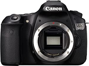 Canon EOS 60D SLR-Digitalkamera (18 Megapixel, Live-View, Full HD-Movie) Gehäuse