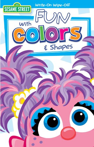 Sesame Street - Colors wih Oscar Write On Wipe Off Book (1) - 1