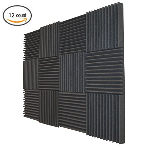 12-pack-soundproofing-foam-acoustic-tiles-studio-foam-sound-wedges-2-x-12-x-12