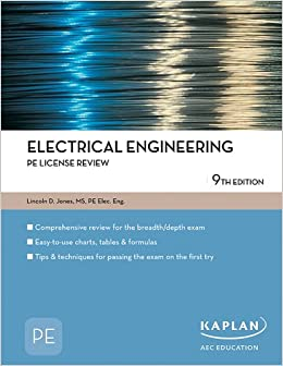 Electrical Engineering Pe License Review Pe Exam