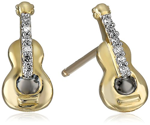 xpy-10k-yellow-gold-guitar-and-diamond-stud-earrings-03cttw-i-j-color-i2-i3-clarity