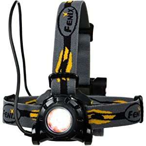 Fenix HP11 LED Waterproof Headlamp Torch Flashlight (Yellow)