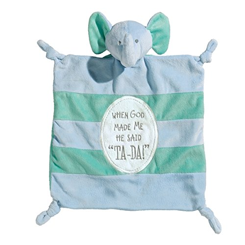 Grasslands Road Noah's Ark Cozie Animal Blanket Zebra Giraffe Lion or Elephant (Elephant)