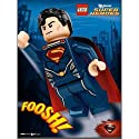 LEGO Super Heroes Man of Steel Poster
