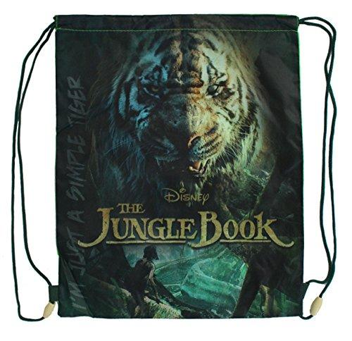 Disney The Jungle Book a59943-Sacca per le scarpe sacchetto-impermeabile lavabile
