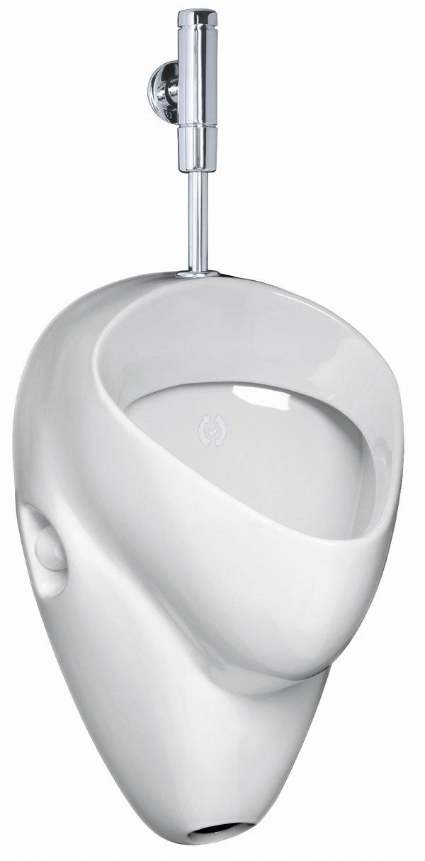 Ceravid MrClever Urinal Zulauf von oben Ablauf nach hinten inkl. Druckspüler im Set, Ceravid C073660  BaumarktÜberprüfung und Beschreibung