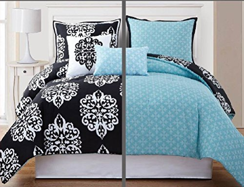 White Damask Bedding 4266 back