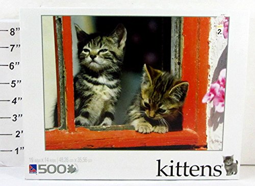 "2011 Sure Lox 19"" x 14"" 500-Piece Jigsaw Puzzle - Kittens, 40265-8 - 1"