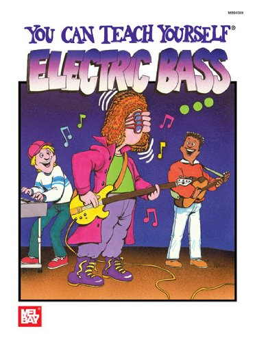 Mel Bay You Can Teach Yourself Electric Bass (You Can Teach Yourself)