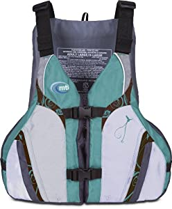 MTI Adventurewear Ladies Moxie PFD Life Jacket with Adjust a Bust System by MTI Adventurewear