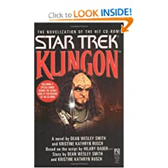 Klingon: Star Trek by Dean Wesley Smith,&#32;Kristine Kathryn Rusch and Hilary Bader