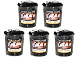 Yankee Candle - 5 x Black Coconut Sampler / Votives New for 2013