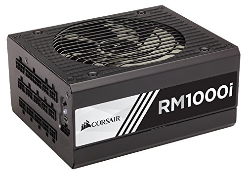 Best Buy! Corsair RMi Series, RM1000i, 1000 Watt (1000W), Fully Modular Power Supply, 80+ Gold Certi...