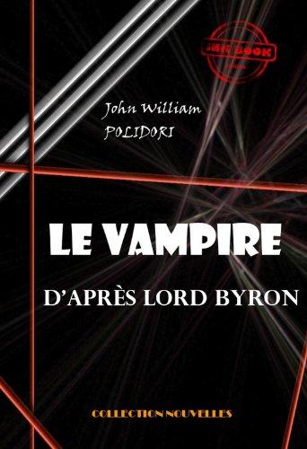 Couverture du livre Le Vampire, d'après Lord Byron