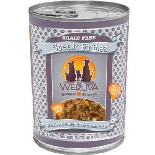 Weruva Steak Frites Canned Dog Food, Weruva