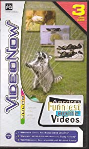 Videonow Color America's Funniest Home Videos 3 Personal Video Disc PVD Pack