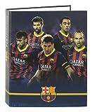 F.C. Barcelona - Carpeta anillas lomo ancho (Safta 511425657)