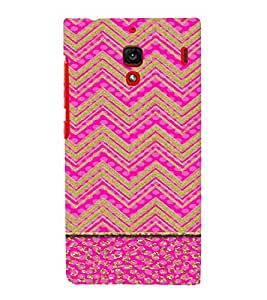 PrintVisa Ethnic Chevron Pattern 3D Hard Polycarbonate Designer Back Case Cover for Xiaomi Redmi 1S
