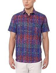 Deezeno Slim Fit Retro Printed Shirt