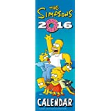 The Official the Simpsons 2016 Slim Calendar (Slim Standard)