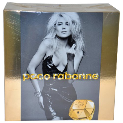Lady Million by Paco Rabanne 80ml Eau de Parfum Spray  &  100ml Sensual Body Lotion