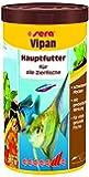 sera vipan, Der Klassiker - Hauptfutter für alle Zierfische in Gesellschaftsaquarien, Flockenfutter, für schönere und größere Fische