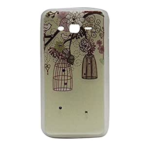 Slim Fit Crystal Tree Picture Hard Back Case Cover For Samsung Grand 2 G 7106