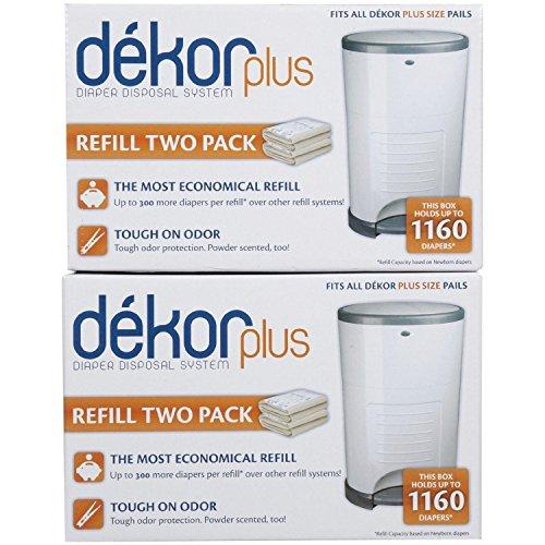 Diaper Dekor Plus Refill – 4 Pk
