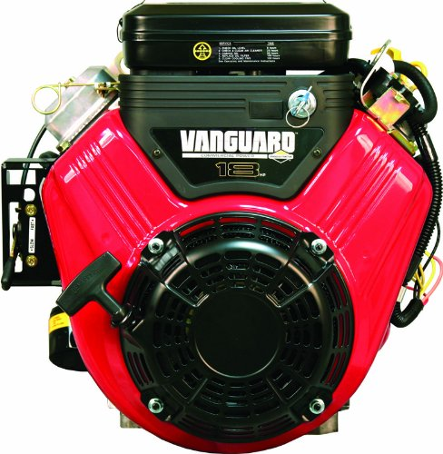 Briggs And Stratton 356447-3087-G1 570Cc 18.0 Gross Hp Vanguard Engine With A 1-1/8-Inch Diameter By 4-Inch Length Crankshaft
