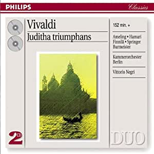 Vivaldi: Juditha Triumphans [Germany]