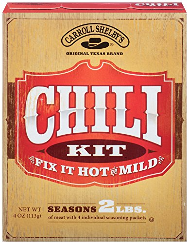 Carroll Shelby's Original Texas Chili Kit, 4-Ounce Boxes (Pack of 12) (Chili Seasoning Kit compare prices)