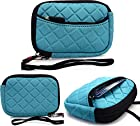 MINT BLUE: Universal Pouch Cover | Panasonic Lumix DMC-ZS20 | ZS25| Panasonic Lumix XS1