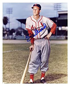 Stan Musial St. Louis Cardinals Autographed 8